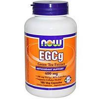 Комплекс с экстрактом зеленого чая NOW Foods EGCg (Green Tea Extract) 400 мг (180 капс)