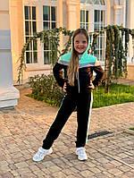 Костюм  детский спортивный  для девочек 43912, фото 1