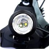 Налобный аккумуляторный фонарь фонарик Police Bailong BL-2199 T6 диод, фото 8