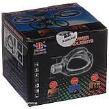 Налобный аккумуляторный фонарь фонарик Police Bailong BL-2199 T6 диод, фото 10