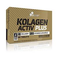 Препараты для восстановления суставов и связок Olimp Kolagen Activ Plus Sport Edition (80 таб)