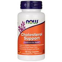 Препарат для поддержания сердечнососудистой системы NOW Foods Cholesterol Support (90 капс)