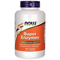 Сбалансированный комплекс ферментов и энзимов NOW Foods Super Enzymes (180 капс)