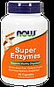 Сбалансированный комплекс ферментов и энзимов NOW Foods Super Enzymes (90 капс)
