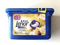 Lenor капсулы для стирки 3 в 1, Color , 14 шт