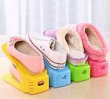 4 в 1 Двойные подставки для обуви Double Shoe Racks LY-500, органайзеры для обувы - Комплект 4 шт, фото 2