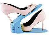 4 в 1 Двойные подставки для обуви Double Shoe Racks LY-500, органайзеры для обувы - Комплект 4 шт, фото 5