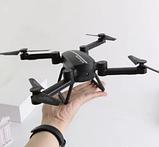 Складной портативный квадрокоптер-дрон Phantom D5H с WiFi камерой, фото 6