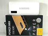 PowerBank SAMSUNG 40000mAh ПОТУЖНИЙ +LED ліхтарик, 3 USB, повербанк універсальна батарея, зовнішній акумулятор, фото 2