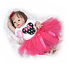 Силиконовая кукла реборн девочка Alysi reborn 57см. (REWVF)