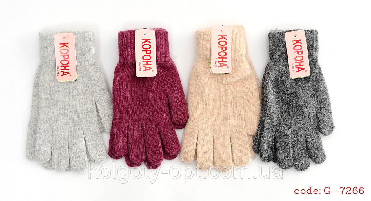 Рукавички перчатки ангора жіночі теплі зимові (продаються тільки від 12 пар)