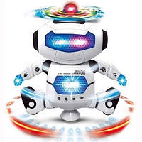 Танцующий светящийся детский робот Dancing Robot, Детская игрушка музыкальный робот