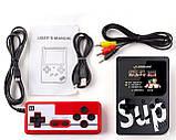 Игровая приставка-консоль SUP GAME BOX 400 игр + джойстик для 2х игроков, фото 2