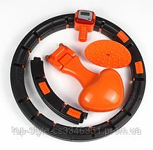 Хулахуп для похудения живота и боков Умный массажный обруч Hula Hoop обруч для похудения