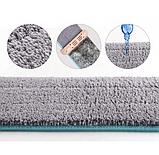 Швабра лентяйка для быстрой уборки с отжимом Spin Mop 360 с микрофиброй, фото 6