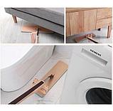 Швабра лентяйка для быстрой уборки с отжимом Spin Mop 360 с микрофиброй, фото 9