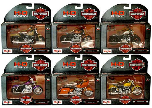 "Мотоцикл игрушечный""Harley-Davidson Motorcycles With Stand"", масштаб 1:18"