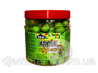 Жевательная резинка со вкусом яблока, 125 шт./упак.