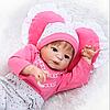 Силіконова лялька реборн дівчинка Alysi reborn 57см. (HDRR)