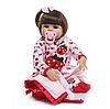 Силіконова лялька реборн Alysi Иришка 48см. (6KHGF)
