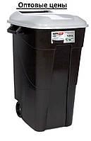 Бак-контейнер для мусора 120л EcoTayg (Испания) 60*56,8*88,6см, с крышкой и ручками, на колесах(422003)
