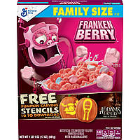 Хлопья Halloween Franken Berry Strawberry Flavor with Marshmallows 481g, фото 1
