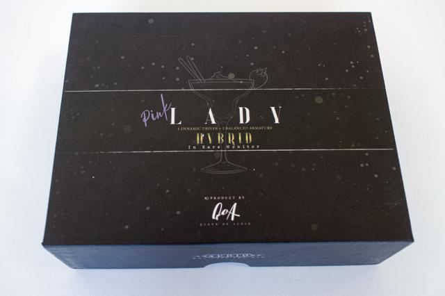 Картинка - Наушники затычки QoA Pink Lady упаковка и комплект поставки