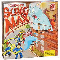 Детская настольная карточная игра Врятувати Макса.Пожежник Arial