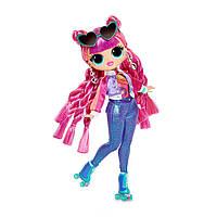 """Ігровий набір з лялькою L. O. L. Surprise! серії O. M. G"""" S3 - Диско-Скейтер"""" 567196"""
