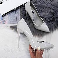 Туфлі жіночі класичні,сірі, фото 1