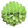Бумажный шар цветок 30см салатовый 0013