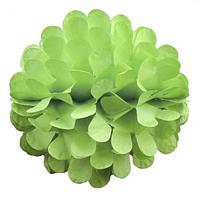 Бумажный шар цветок 30см салатовый 0013, фото 1