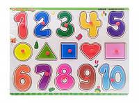 Деревянная игрушка рамка-вкладыш для самых маленьких MD0646-5 ( 0646-538)
