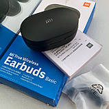 Наушники беспроводные Xiaomi AirDots/Earbuds Basic TWS. Черные., фото 8
