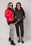 Двухсторонняя куртка с мехом   Damader 21088, фото 1
