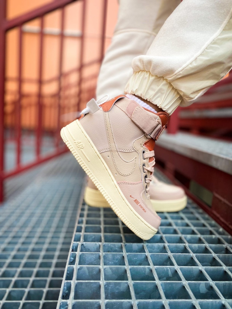 "Женские кроссовки Nike Air Force 1 High ""Utility pink"""