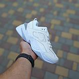 Женские кроссовки Nike M2K Tekno Белые с серым, фото 2