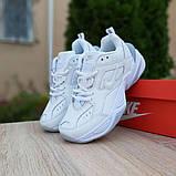 Женские кроссовки Nike M2K Tekno Белые с серым, фото 6