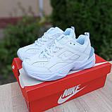 Женские кроссовки Nike M2K Tekno Белые с серым, фото 7