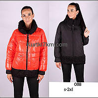 Двухсторонний зимний пуховик-куртка   Damader 21088, фото 1