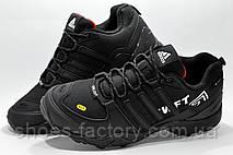 Термо кроссовки в стиле Adidas Terrex Swift, Черные, фото 2