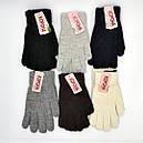 Рукавички перчатки ангора жіночі теплі зимові (продаються тільки від 12 пар), фото 2
