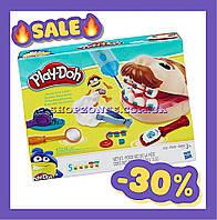 "Play-Doh ""Мистер Зубастик"" игровой набор для творчества Hasbro. Набор пластилина для лепки."