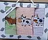 Подарочный набор кухонных полотенец Коровки
