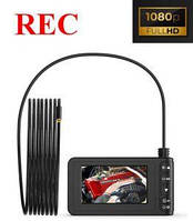 Профессиональная камера для эндоскопического осмотра FULL HD + ЖК-экран 4,3 дюйма, фото 1