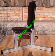 Лава (стілець) для Жиму сидячи (Проф серія, для залу), фото 2