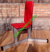 Лава (стілець) для Жиму сидячи (Проф серія, для залу), фото 3