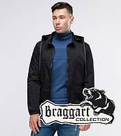 Куртка ветровка мужская осенняя Braggart Youth, черный