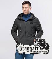 Куртка ветровка мужская осенняя Braggart Youth, темно-серый