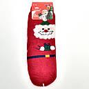 Новогодние шерстяные носки ангора 37-41, фото 2